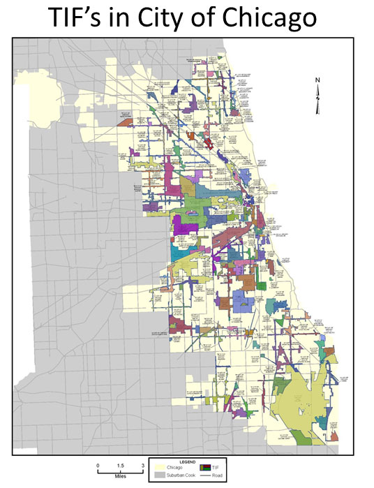 Chicago Tif Map TIF Map   FITZGERALD LAW GROUP, P.C.