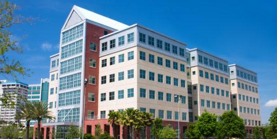 multi-story office building in the riverwalk area of Jacksonville, Florida